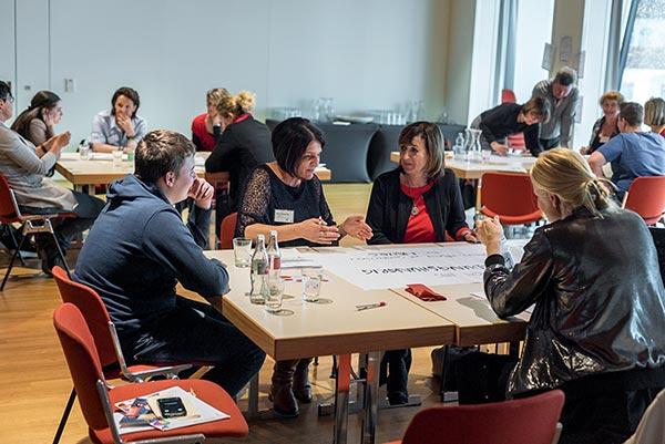 Design-Thinking bei der Bildungskonferenz Zillertal 2017